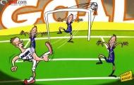 Beckham tạo tuyệt phẩm: Hãy nhìn cho rõ nhé Pearce!
