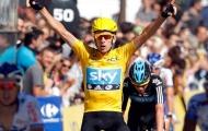 Tân vô địch Tour de France hạnh phúc bên vợ con