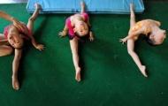 """Chùm ảnh: VĐV nhí Trung Quốc khổ luyện vì giấc mơ """"vàng"""""""