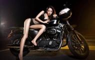 Chân dài cặp Harley: Ma lực khó cưỡng