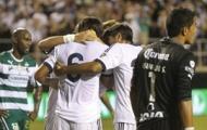 Chùm ảnh: Real may mắn chiến thắng trước Santos Laguna