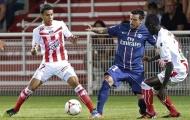 Lavezzi - Ancelotti lĩnh thẻ đỏ, PSG lại hòa thất vọng