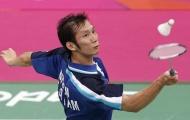 Giải cầu lông Việt Nam mở rộng 2012: Tiến Minh thắng nhàn ngày ra quân