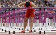 Lưu Tường đã đóng kịch trên đường chạy 110m rào Olympic