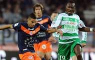 01h45 ngày 22/09: Montpellier vs St.Etienne: Nhà Vua bẽ mặt