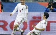 Kagawa tỏa sáng, Nhật Bản gây sốc tại Paris (1-0)