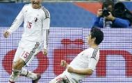 Video giao hữu: Kagawa lập công, Nhật Bản hạ gục Pháp 1-0
