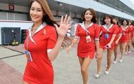 Mỹ nhân Hàn thiêu đốt Korean GP