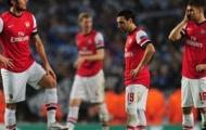 Các khoảnh khắc trong thất bại đau đớn trên sân nhà của Arsenal