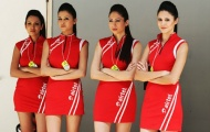 Người đẹp Ấn Độ rạng rỡ ngày Vettel lập kỷ lục