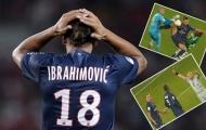Ibrahimovic vắng mặt trận phục thù Montpellier