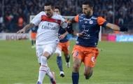 Montpellier (1-1) PSG: Run rẩy rời Mosson