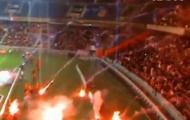 Video Ligue 1: Pháo sáng bay khắp nơi trên SVĐ Stade de la Mosson