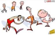 Ảnh biếm họa của ngày: Khi CR7, Rooney, Persie 'bỗng dưng' chấn thương