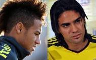 07h30 ngày 15/11, Brazil vs Colombia: Neymar đọ súng với Falcao, Kaka tranh tài cùng Rodriguez