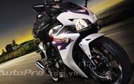 Những hình ảnh đầu tiên về 'hàng nóng' Honda CBR500R 2013