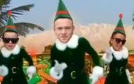 Video: Rooney chế clip cực độc mừng Giáng sinh