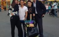 Lộ loạt ảnh Subeo cùng bố mẹ vui chơi tại Mỹ