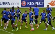 Chùm ảnh: Chelsea tập luyện trên đất Thụy Sĩ