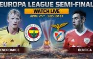 02h05 ngày 26/04, Fenerbahce vs Benfica: Khát vọng đầu đời