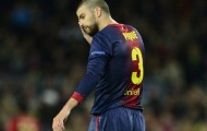 Chùm ảnh: Các cầu thủ Barca với nỗi buồn 'tang tóc'