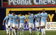 Chùm ảnh: Chelsea lại đại bại trước Man City trên đất Mỹ