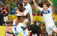 Chùm ảnh: Italia nhọc nhằn đánh bại Mexico trong trận ra quân
