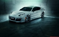 Porsche Panamera Turbo khỏe khoắn hơn với gói độ TechArt