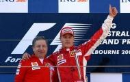 F1: Kimi Raikkonen trở lại mái nhà xưa