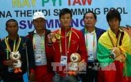 Bơi lội là mỏ vàng của đoàn Việt Nam ở Para Games 7