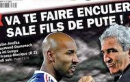 Khoảnh khắc World Cup: Vết nhơ của người Pháp (2010)