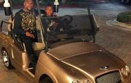 Mayweather mua siêu xe nạm vàng cho con trai