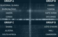 Ghana đụng Nam Phi ở giải vô địch châu Phi 2015