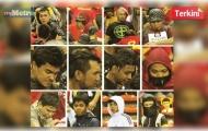 Cảnh sát Malaysia đăng ảnh 12 kẻ tấn công fan Việt Nam