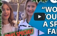 Video: Fan Chelsea dứt khoát không hôn người mẫu Tottenham