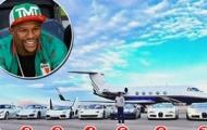 Mayweather khoe dàn xế trị giá hơn 8 triệu đô và máy bay riêng
