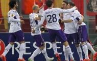 Europa League: Roma thua tan tác trước Fiorentina