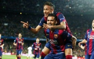 Chùm ảnh: Lu mờ Ibrahimovic, Neymar giúp Barca thị uy sức mạnh trước PSG