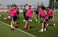 Chùm ảnh: Không tiệc tùng ăn mừng, Real Madrid vội lao vào tập luyện
