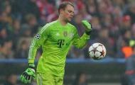 Bayern mất hai triệu đôla khi vào bán kết Champions League