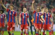 CHÍNH THỨC: Bayern Munich lên ngôi vương Bundesliga