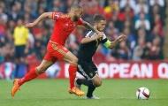 Chùm ảnh: Mang băng thủ quân, Eden Hazard bất lực trước xứ Wales