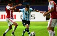 Chùm ảnh: Messi chơi hay, Argentina vẫn bị Paraquay cầm hòa