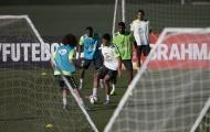 Sau thất bại, Brazil lao vào tập luyện nhưng vắng Neymar