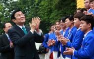 Chủ tịch nước Trương Tấn Sang gặp mặt VĐV đoạt huy chương tại SEA Games