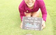 Golf thủ Tăng Thị Nhung ở tuổi 36 vẫn 'vụt' ra HCV quốc gia