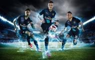 Chùm ảnh: Arsenal trình làng mẫu áo đấu thứ 3