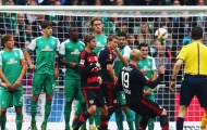 Video: Bremen 0-3 Leverkusen (Vòng 7 Bundesliga)