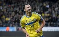 Chùm ảnh: Ghi 8 bàn/8 trận, Ibrahimovic không cứu được Thụy Điển