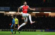 Chùm ảnh: Arsenal thăng hoa, Olivier Giroud cũng hết 'chân gỗ'